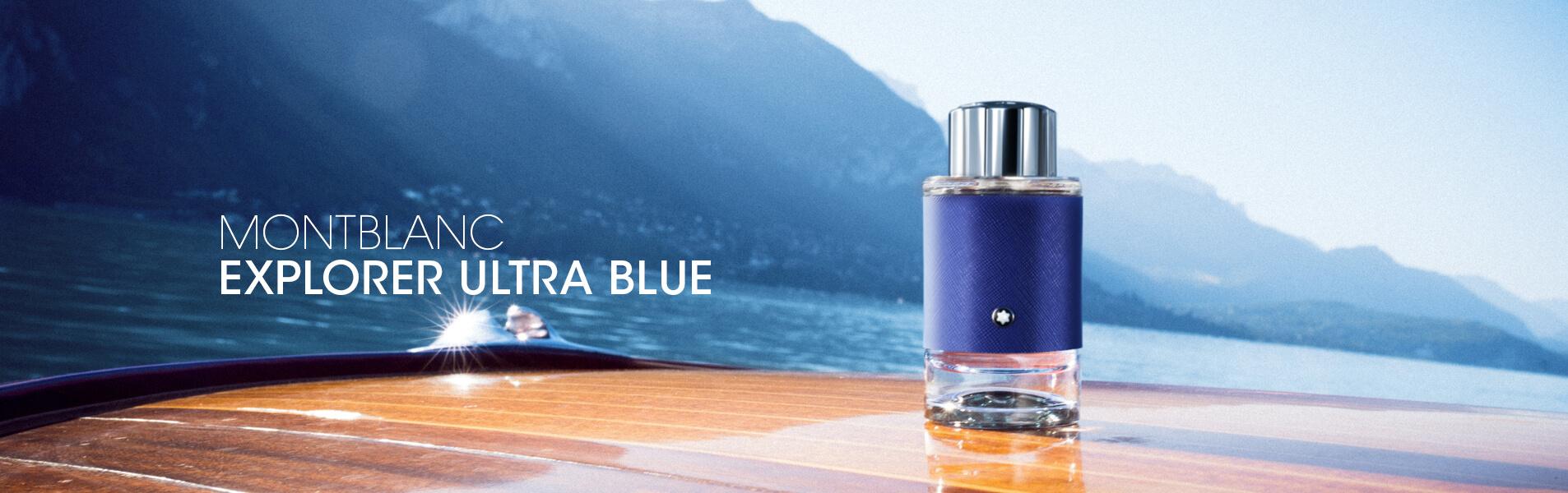 Montblanc Explorer Ultra blue